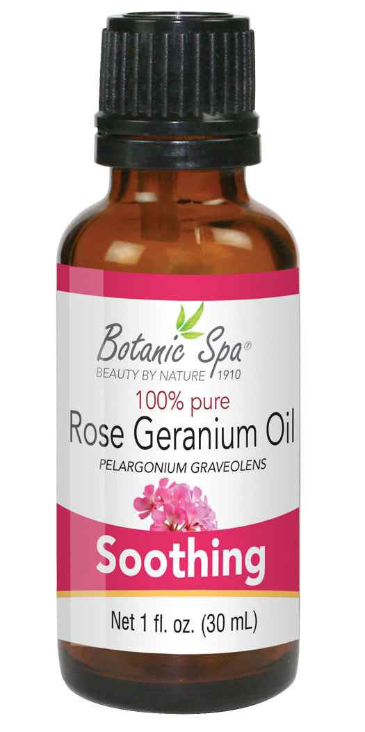 http://www.BotanicChoice.com - Botanic Spa Rose Geranium Essential Aromatherapy and Body Oil – 1 Oz 18.00 USD