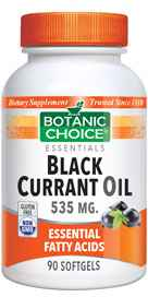 Black Currant Oil 535 mg GLA 80 mg 90 Softgelsnohtin