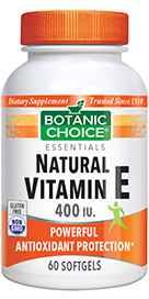 Vitamin E Natural D-Alphanohtin