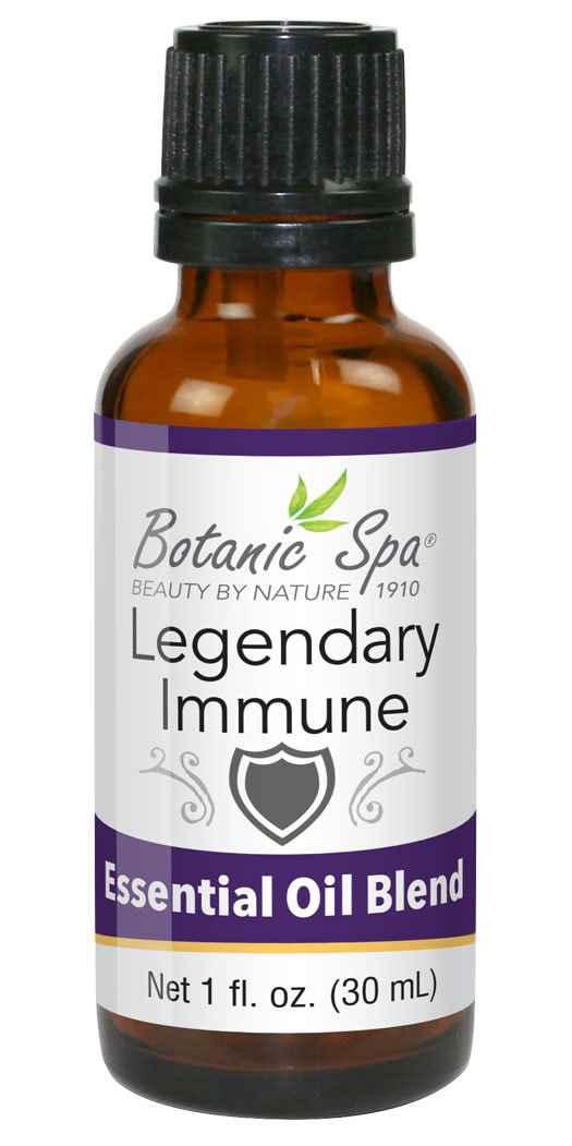 http://www.BotanicChoice.com - Botanic Spa Legendary Immune Essential Oil Blend – Fl Oz 10.00 USD