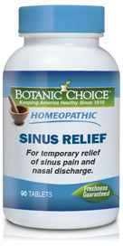 Homeopathic Sinus Relief Formula 90 tabletsnohtin