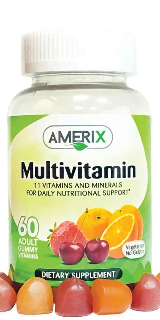 Amerix Gummies Multivitamin - 60 Gummies