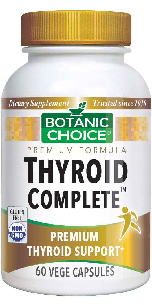 Botanic Choice Thyroid Complete™ - Thyroid Health Support Supplement - 60 Vegetarian Capsules