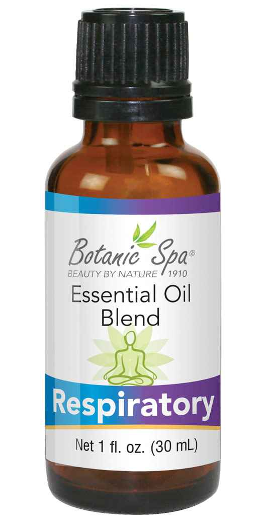 Botanic Spa Respiratory Essential Aromatherapy and Body Oil Blend - 1 Oz