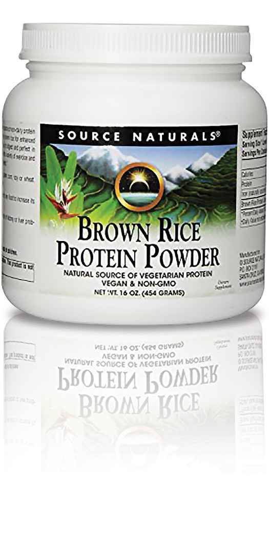 Source Naturals Brown Rice Protein Powder - 16 Oz