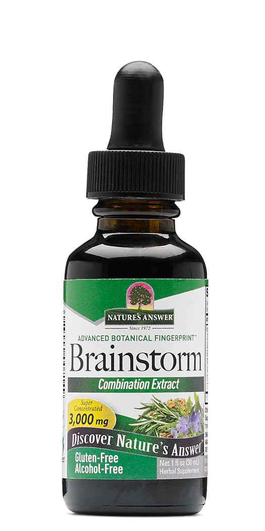 Natures Answer Brainstorm Combination Extract - 1 Oz