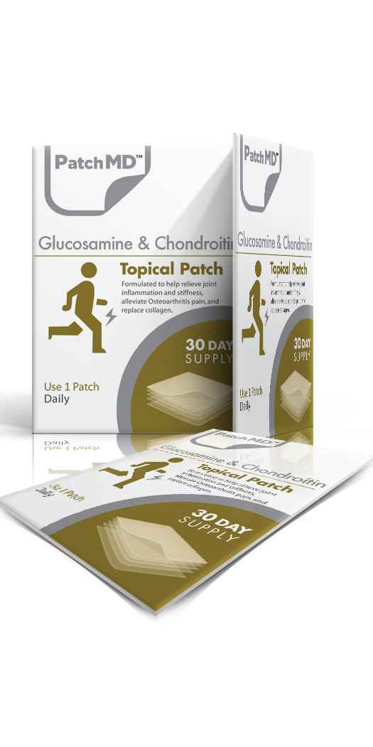 PatchMD Glucosamine & Chondroitin Patch - 30 Day