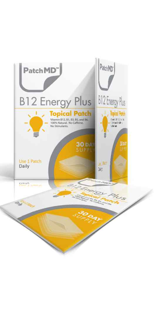 PatchMD B12 Energy Plus Patch - 30 Day