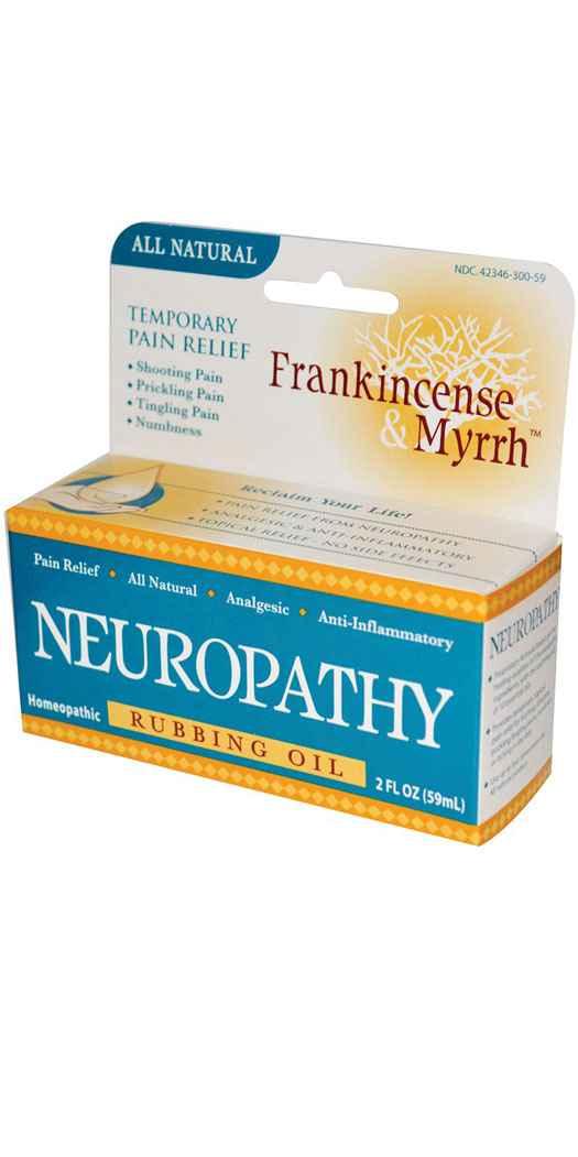 Frankincense & Myrrh Neuropathy Rubbing Oil - Fl Oz