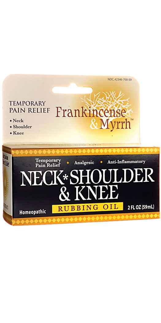 Frankincense & Myrrh Neck, Shoulder & Knee - Fl Oz
