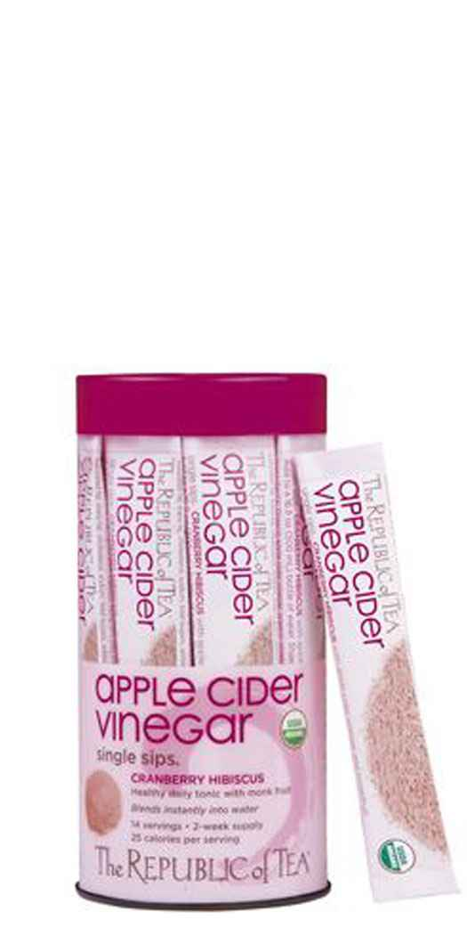 Republic of Tea Organic Apple Cider Vinegar Single Sips� - Sip Packets
