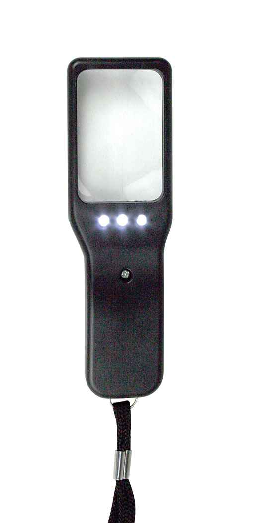 """dp Company Lighted Magnifying Glass - Length: 4.75"""""""