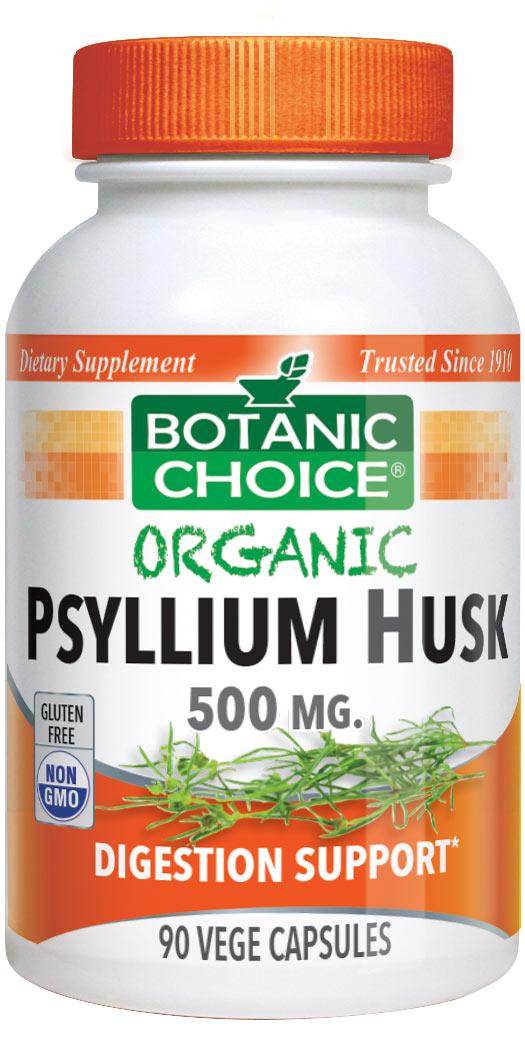 Botanic Choice Organic Psyllium Husk - 90 Ct