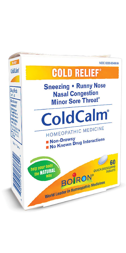 Boiron ColdCalm Tablets - 60 Tablets