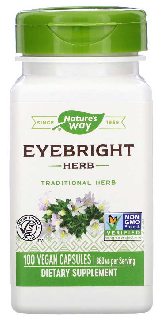Nature's Way Eyebright Herb - Vegan Capsules