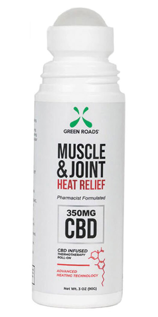 Green Roads Muscle & Joint Heat Relief 350 mg - 3 Oz