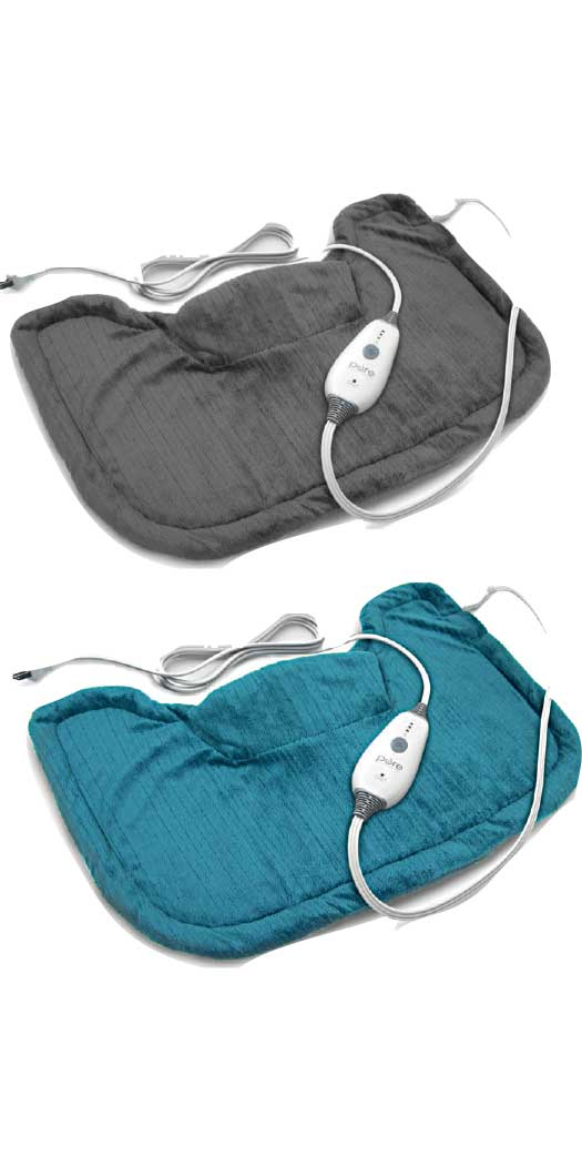 Pure Enrichment PureRelief Neck & Shoulder Heating Pad - 1 Pad Charcoal Gray