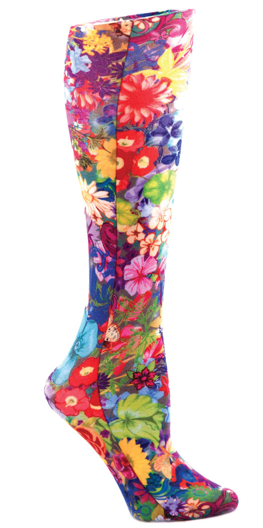 botanicchoice.com - Celeste Stein Compression Socks Bouquet Wide Calf Moderate – Wide Calf Moderate 17.99 USD