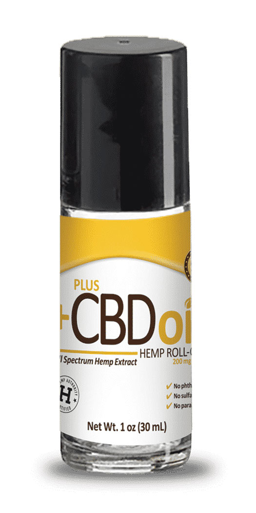 botanicchoice.com - CV Sciences Plus CBD Oil Roll-On 200 mg – 1 Oz 27.99 USD