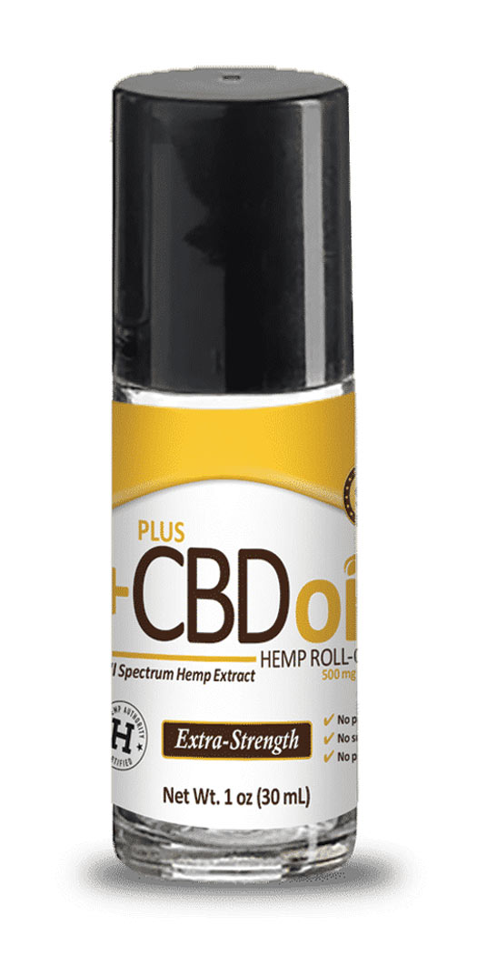 botanicchoice.com - CV Sciences Plus CBD Oil Roll-On 500 mg – 1 Oz 49.99 USD