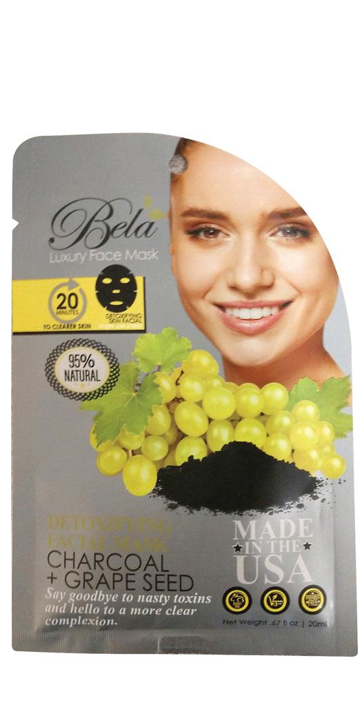 botanicchoice.com - Bela Luxury Face Mask Sheet Detoxifying Formula – 1 Mask 2.99 USD