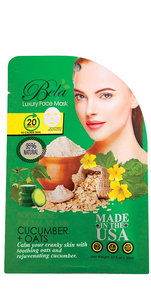 botanicchoice.com - Bela Luxury Face Mask Sheet Soothing Formula – 1 Mask 2.99 USD