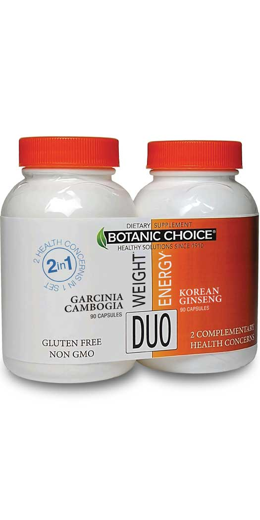 botanicchoice.com - Botanic Choice Weight & Energy Duo – 1 Month 24.00 USD