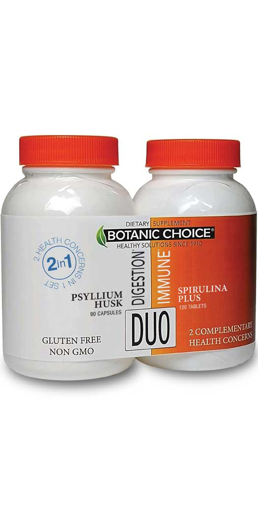 botanicchoice.com - Botanic Choice Digestion & Immune Duo – 1 Month 26.00 USD