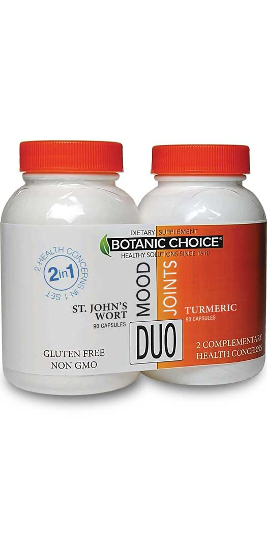 botanicchoice.com - Botanic Choice Mood & Joints Duo – 1 Month 22.00 USD