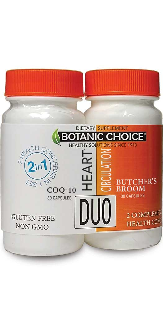 botanicchoice.com - Botanic Choice Heart & Circulation Duo – 1 Month 28.00 USD