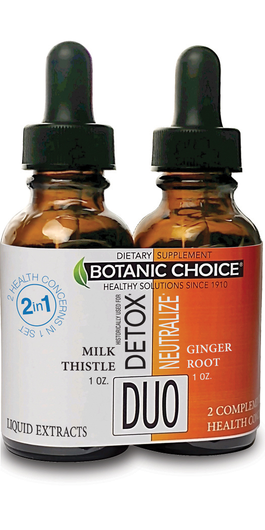botanicchoice.com - Botanic Choice Detox & Neutralize Liquid Extracts Duo – 1 Month 26.00 USD