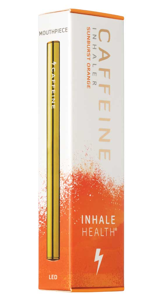 botanicchoice.com - Inhale HealthCaffeine Sunburst Orange Inhaler – 1 Inhaler 19.99 USD