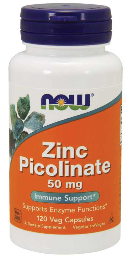 botanicchoice.com - NOW Foods Zinc Picolinate 50 mg – Veg Capsules 14.99 USD