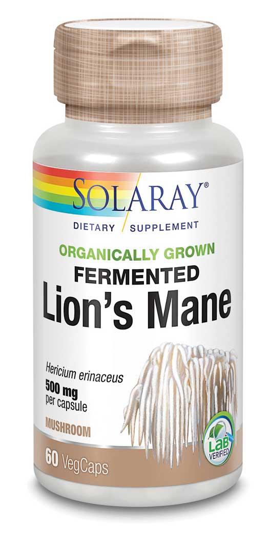 Solaray Lion's Mane Capsules - Veg Capsules