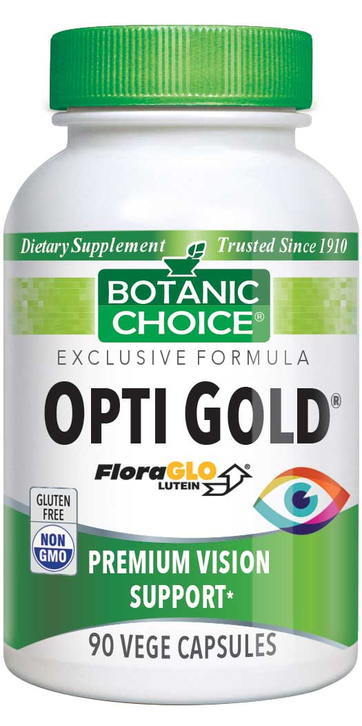 botanicchoice.com - Botanic Choice Opti Gold® Vision & Eye Health Supplement – 90 Vegetarian Capsules 110.00 USD