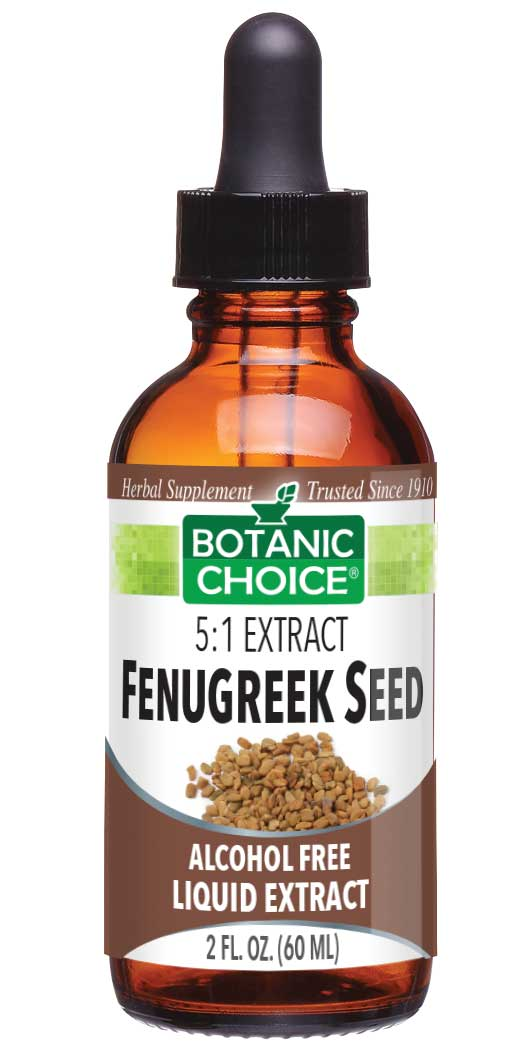 botanicchoice.com - Botanic Choice Fenugreek Seed Liquid Extract – 2 Oz 16.00 USD