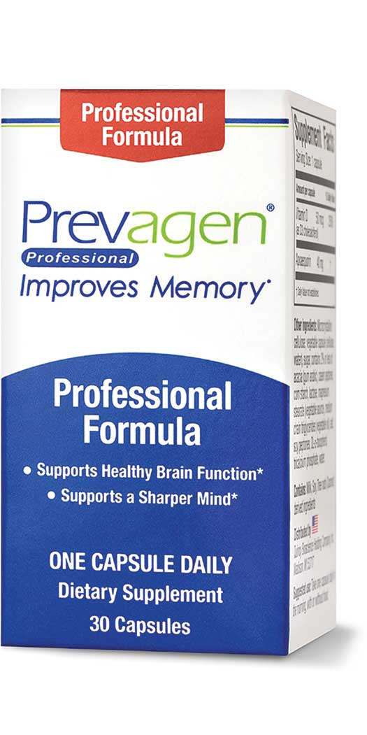 Quincy Bioscience Prevagen Professional - 40MG - 30 Capsules