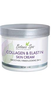 Collagen and Elastin Skin Cream promotes strong healthy skins