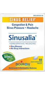Boiron <br> Sinusalia 60 Tablets