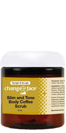 Change Of Face® <br>Slim and Tone Coffee Body Scrub