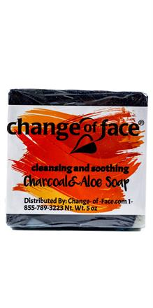 Change Of Face® <br>Charcoal Aloe Soap