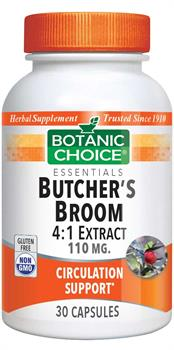Butcher's Broom Extract 110 mg.