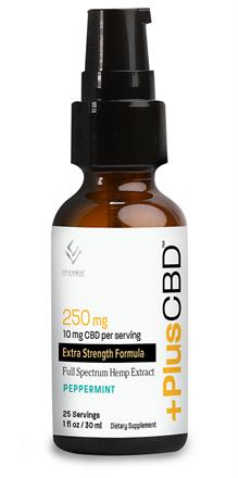 CV Sciences <br> PlusCBD Oil ™ Drops  Peppermint  Up to 250 mg