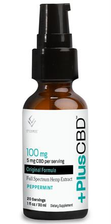 CV Sciences <br>  PlusCBD Oil ™ Spray - Peppermint EVOO