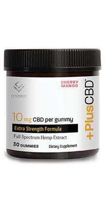 CBD Gummies 10mg Cherry Mango
