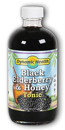 Dynamic Health <br> Elderberry & Honey Tonic Concentrate Liquid