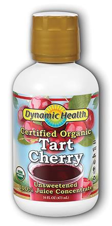 Dynamic Health <br> Tart Cherry Concentrate Certified Organic