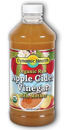 Dynamic Health <br> Apple Cider Vinegar With Mother Certified Organic