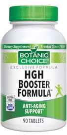 Botanic Choice HGH BOOSTER FORMULA * 45 COUNT 45 tablets