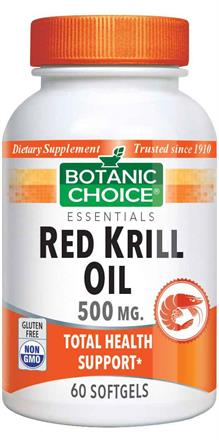 Red Krill Oil 500 mg.